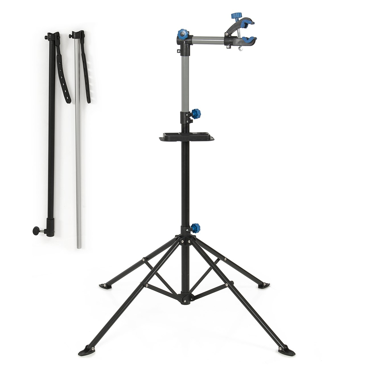 ARKSEN Pro Bike Adjustable 43'' to 75'' Repair Stand w/Telescopic Arm Bicycle Cycle Rack