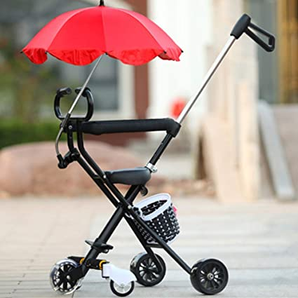 Amazon.com: Carrito de bebé plegable para cochecito de bebé ...