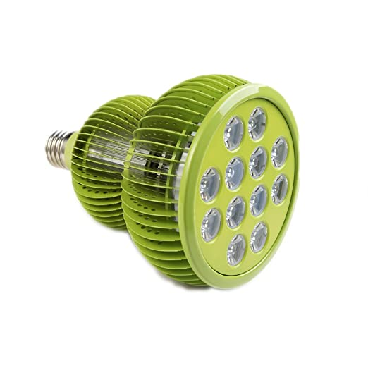 Lampada Per Piante TaoTronics Lampade LED Per Piante 36 W E27 Crescita  Vollspektrum Luce Diurna Lampada