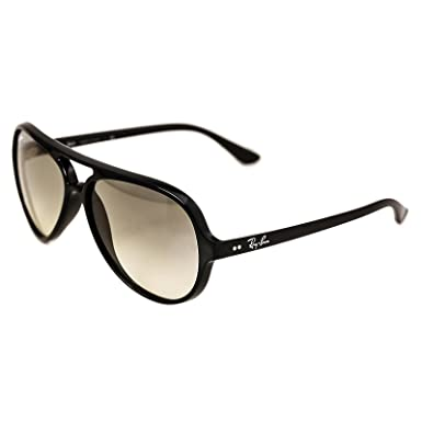 Ray-Ban - CATS 5000 RB 4125, Aviateur, propionate, homme, BLACK ... f7353d09fed7