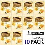 Collagen Facial Sheet Mask Pack (10 Sheets) Face Treatment [NAISTURE]...