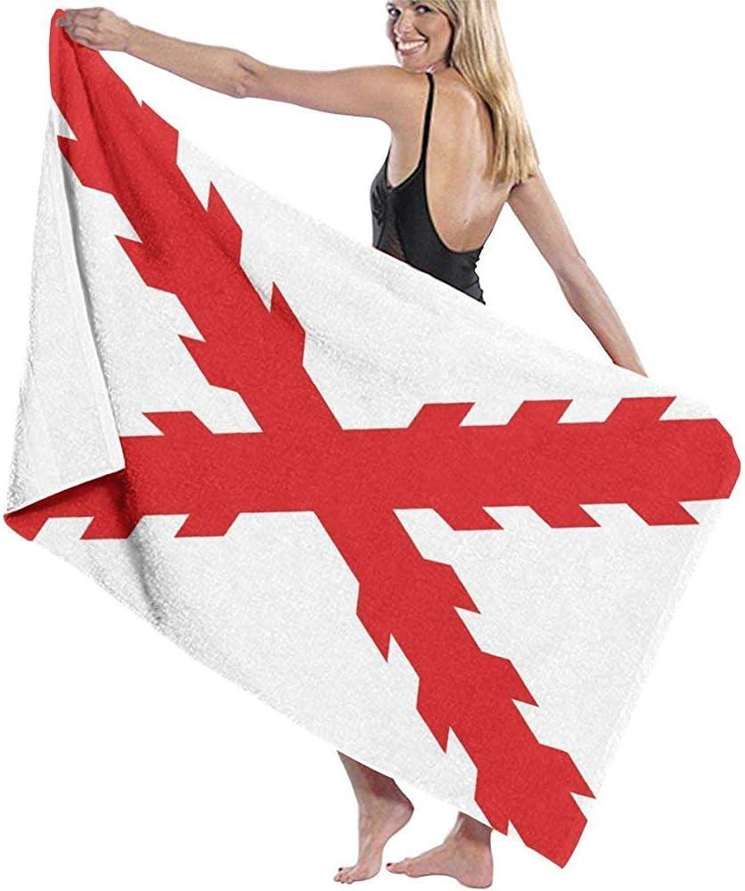 Beyond Loser Bandera De La Cruz De Borgoña Piscina De Microfibra Toalla De Playa Manta Toalla De Baño De Secado Rápido Toallas De Surf,130X80 CM: Amazon.es: Hogar