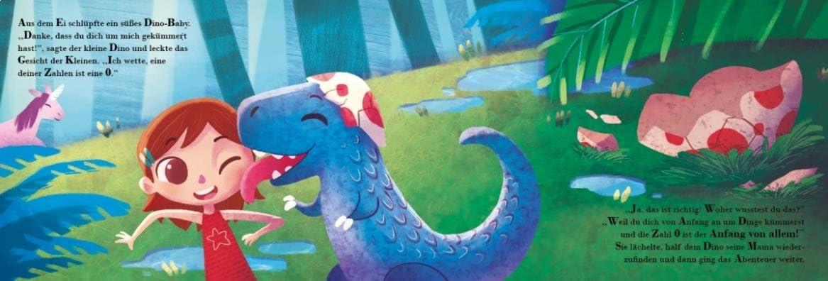Personalisiertes Kinderbuch Meine magischen Zahlen 0-10 Jahre MY MAGIC STORY