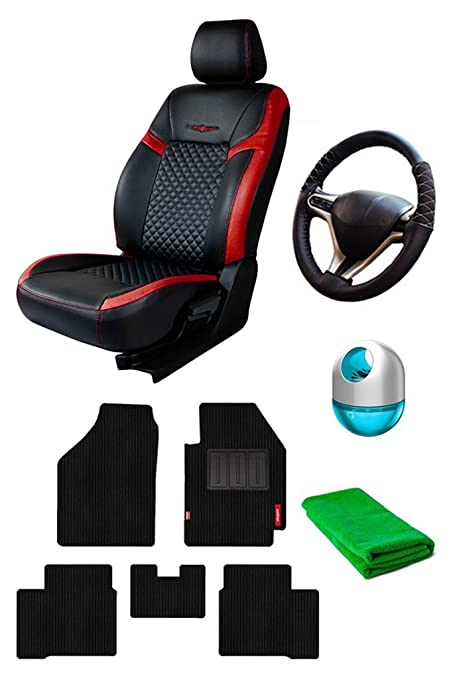 Elegant Car Accessories Combo For New Honda Amaze 2018 Amazon In
