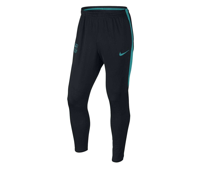 Nike M Pant Sqd Kpz - Hose Linie F.C. Barcelona Herren, Farbe Schwarz, Größe