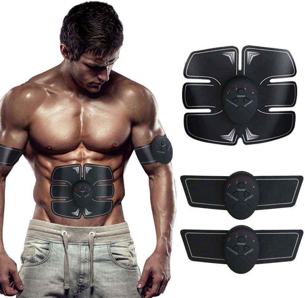 SHENGMI EMS Muscle Stimulator, ABS Trainer Ab Toner Belt Abdominal  Exerciser Abs Stimulator Muscle Toner Stomach Toning Belt Six Pack Abs Pad  Muscle Training for Men & Women: Amazon.co.uk: Sports & Outdoors