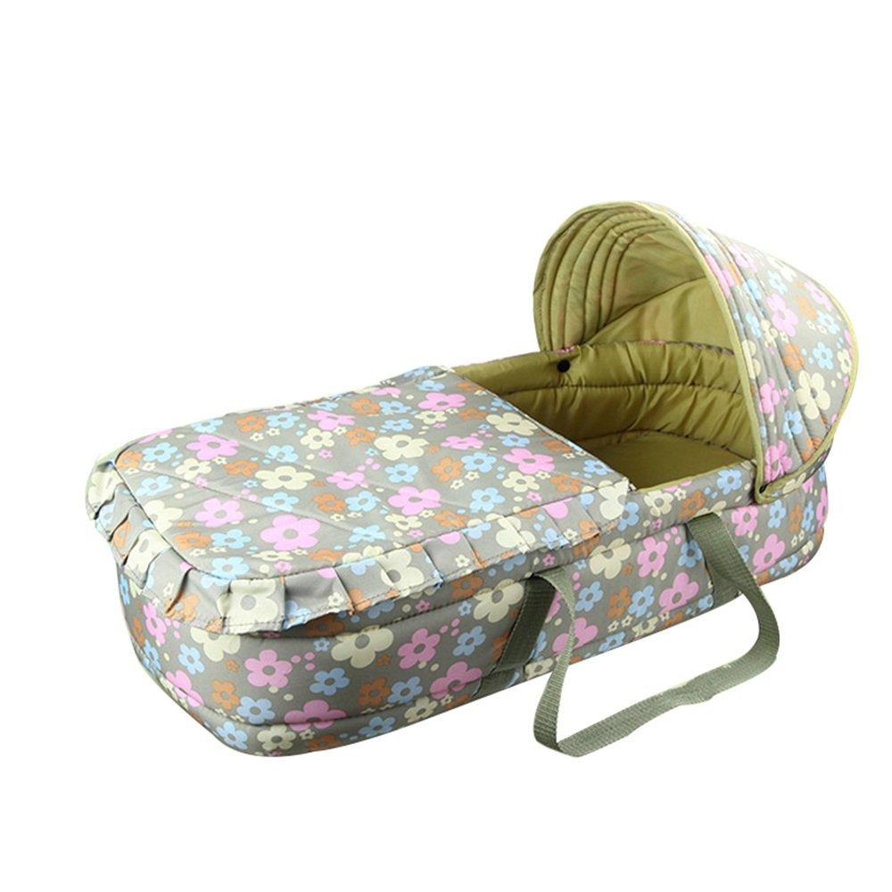Breastfeeding pillow Culla, Ceste Cestini Portatili Cestini per la Spesa Neonato Culla 72  32  20cm (colore   B)