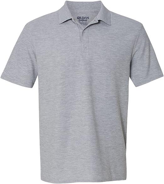 Gildan Dryblend para Hombre, 16 ML Camisa de Deporte Doble Piqué ...