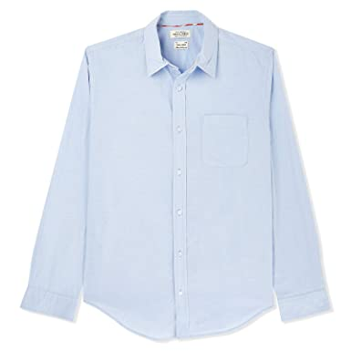 39763238d Jack & Jones Shirt for Men - Light blue: Amazon.ae