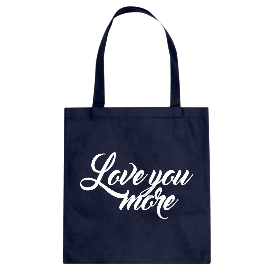 Indica Plateau Love You More Cotton Canvas Tote Bag