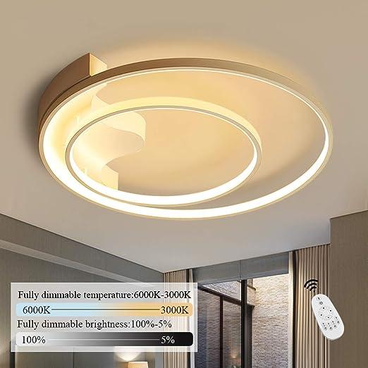 Lámpara de techo LED I CBJKTX lámpara de techo 51cm 52W regulable con control remoto lámpara de sala sala de niños lámpara de comedor lámpara de ...