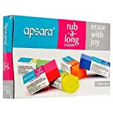 Apsara R-A-L Eraser Big - Pack of 20