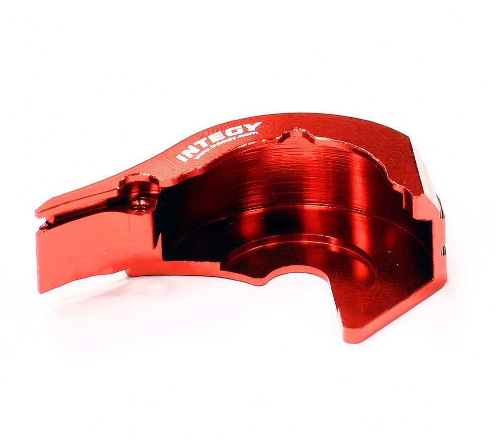 Integy RC Hobby T3418ROT Motor Mount/Gear Cover for 1/16 Traxxas E-Revo VXL,Slash VXL,Summit VXL,Rally