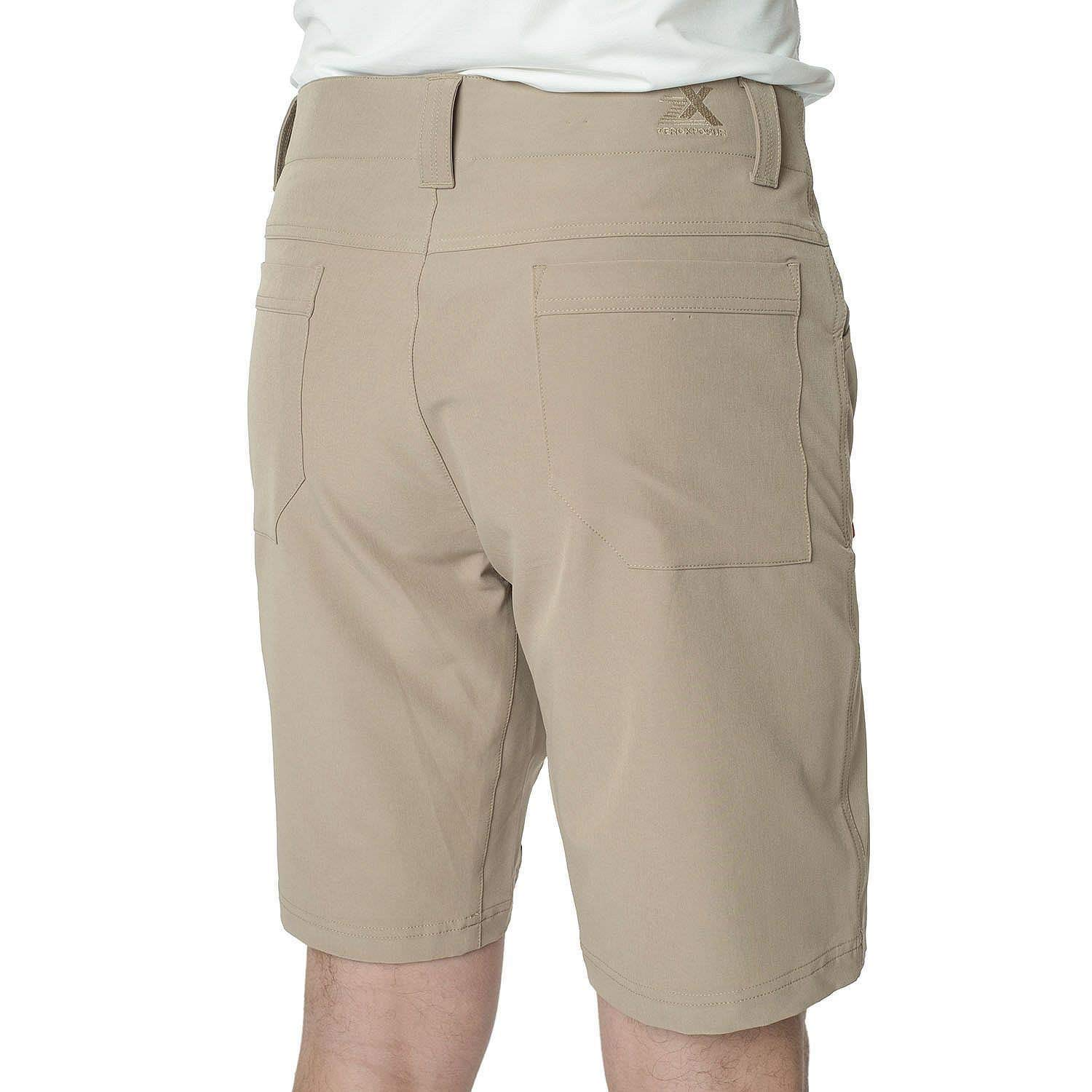 ZeroXposur Men's Lightweight Stretch Travel Shorts Color: Oak Size: (30)-(31)-(32)-(33)-(34)-(36)-(38)-(40) New Tags (40) by ZeroXposur (Image #1)