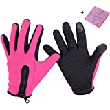 Hjuns Winter Gloves Touch Screen Windproof Thermal Outdoor Ski Leisure Camping Thermal Gloves