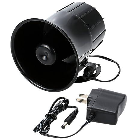 Amazon.com : KKmoon Super Power Alarm Siren Horn Outdoor ...