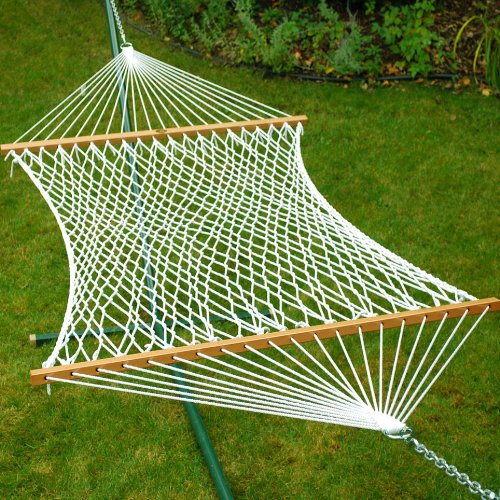 13' Deluxe Polyester Rope Hammock - - Deluxe Polyester Rope Hammock