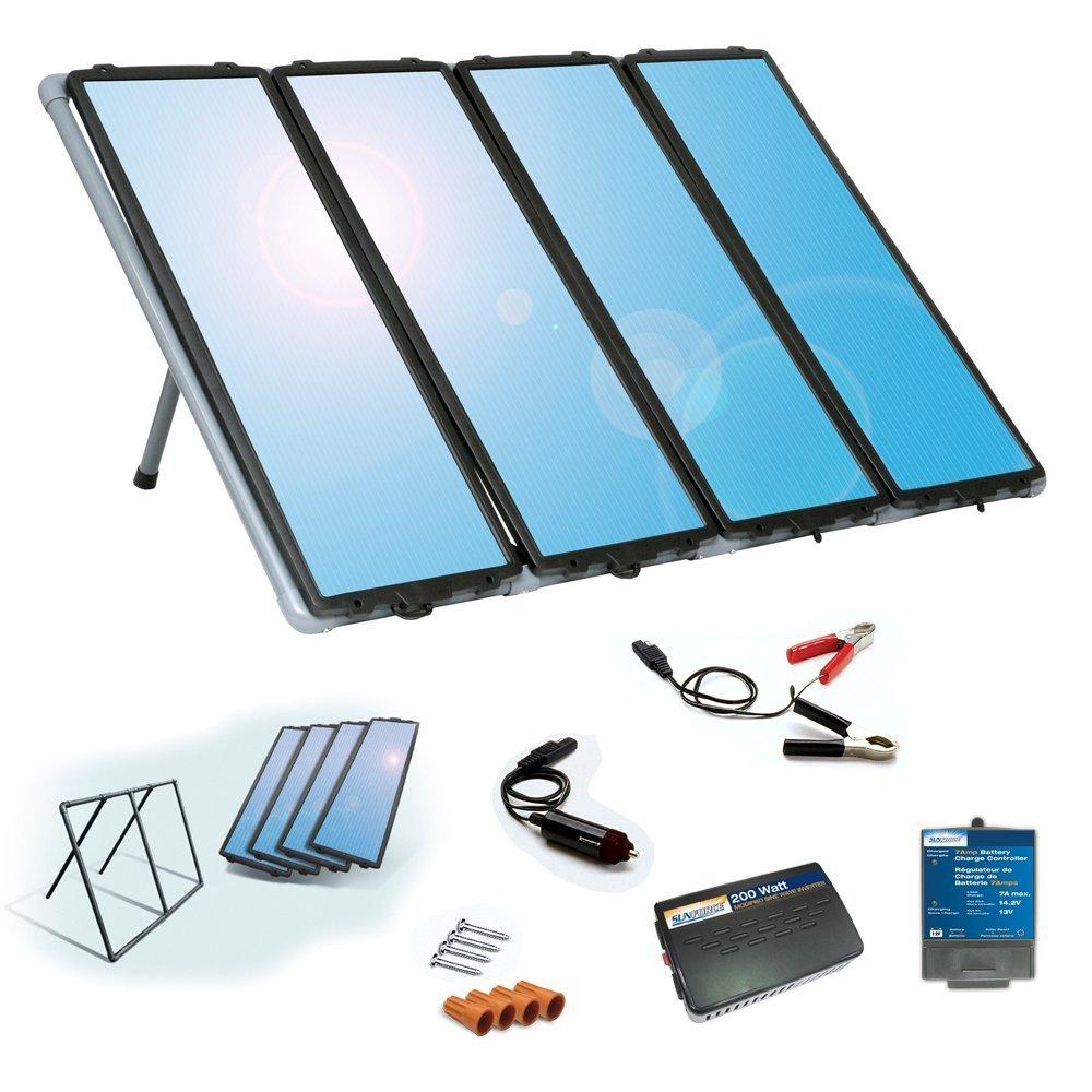 Sunforce 50048 60W Solar Charging Kit by Sunforce