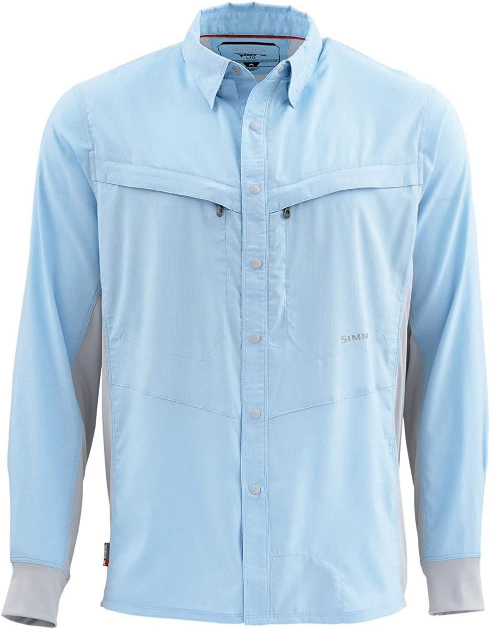 Simms Intruder Bicomp Shirt Light 青 シムス イントルーダー バイコンプ シャツ  M [並行輸入品]
