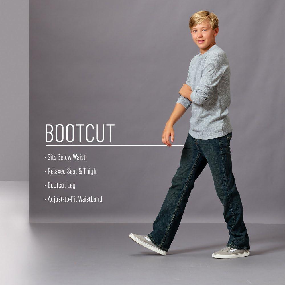 Wrangler Big Boys Authentics Boot Cut Jean