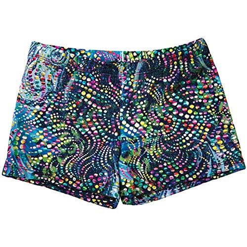 Bodywrappers Print Hot Shorts, Denim ()