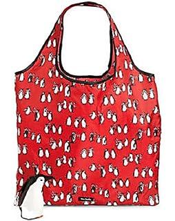 61017ab88a Amazon.com  Vera Bradley Market Tote in Playful Penguins Gray ...