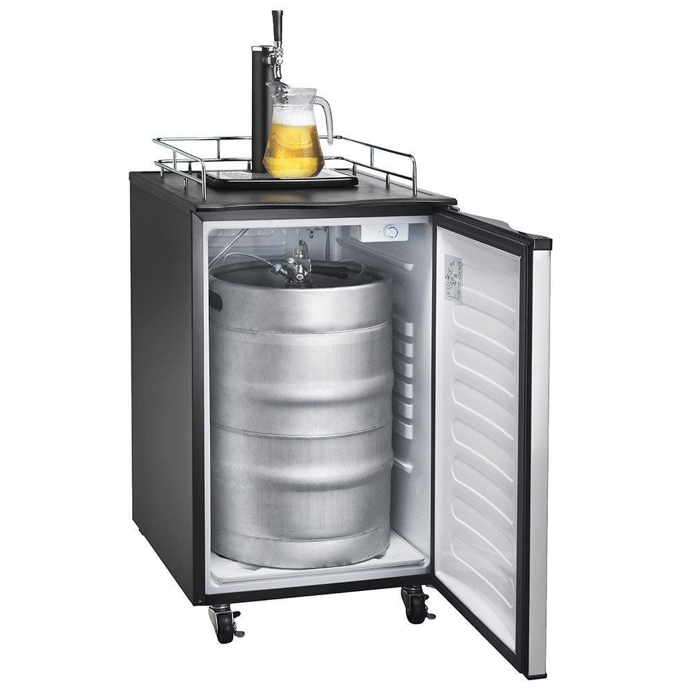 Amazon.com: Versonel Stainless LCD Temp Full Keg Kegerator Beer ...