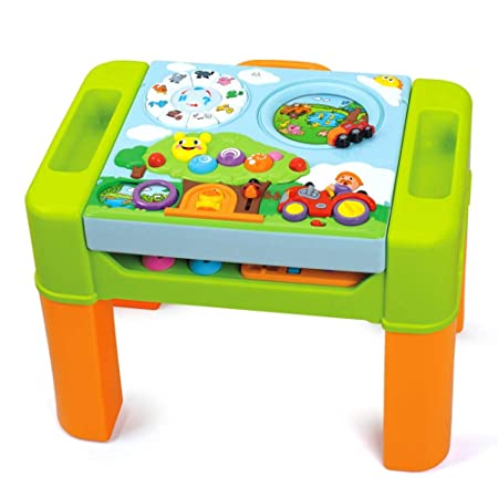 Edificio mesa de bloques de juguete Mesa de juego Mesa de ...