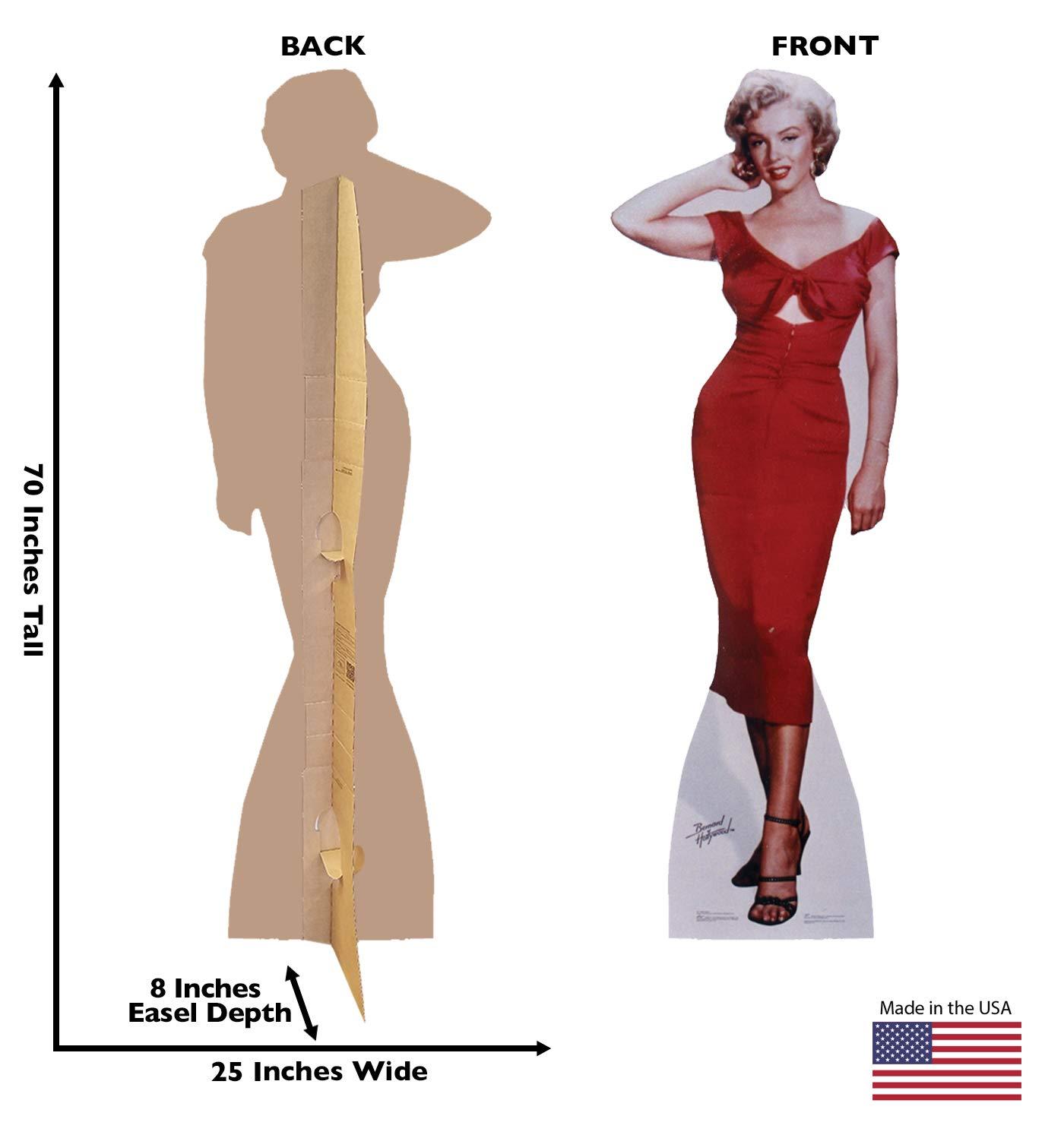 fd9bb4eb4e0fb Amazon.com  Advanced Graphics Marilyn Monroe Life Size Cardboard Cutout  Standup - Niagara (1953 Film)  Home   Kitchen