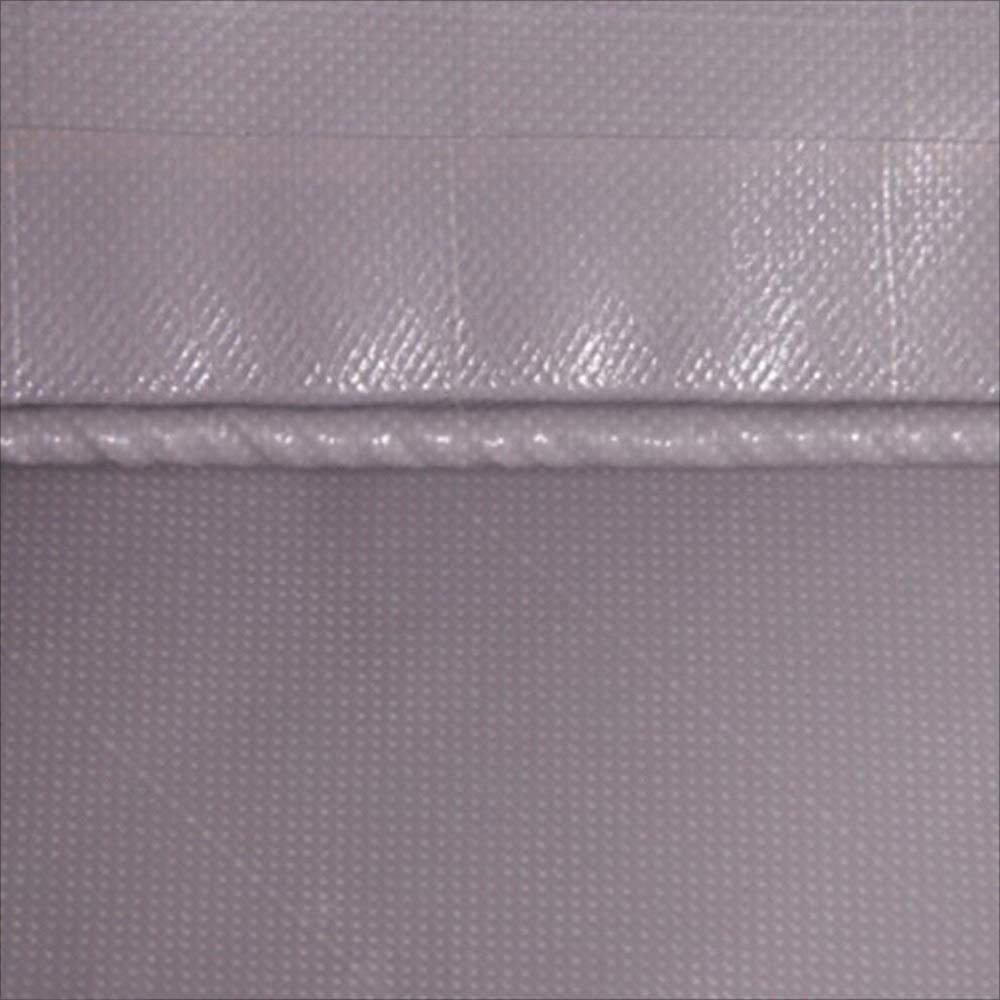 TARPAULIN Plane/Wasserdichtes Tuch, graues PVC staubdichtes regendichtes ölBesteändiges Freien Tuch im Freien ölBesteändiges Markise-Tuch-Einfassungs-Segeltuch 580G / M2, 1.5m-6.8m (größe : 4.8mx4.8m) 076514