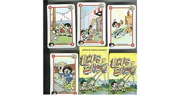 Zipi y Zape baraja cartas: Escobar: Amazon.com: Books