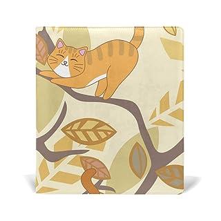Malplena Cat on Tree School Book Covers ideale per scuola e regali