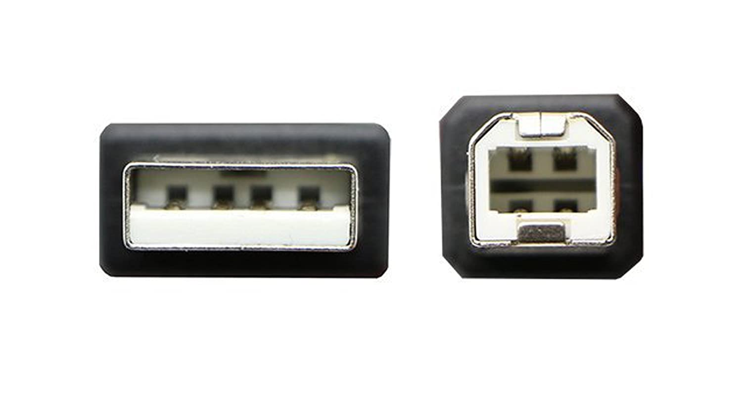A-Male to B-Male for AKiTioThunder Dock - 10 FT//10 PACK//IVORY Specific Models Only Huetron TM USB 2.0 Cable