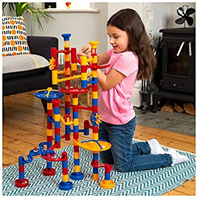 Galt Toys, Mega Marble Run, Construction Toy, (Model: 1004054): Toys & Games