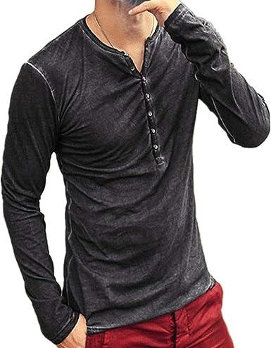 Chickwin Casual Camisa para Hombre, T Camisas Slim Fit Camisas Playa Hombres Manga Corta Casual Transpirable Top Blusas de Trabajo