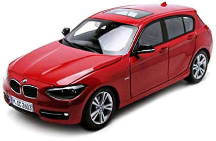 Amazon Com Paragon Bmw F20 1 Series Red 1 18 Diecast Car Model