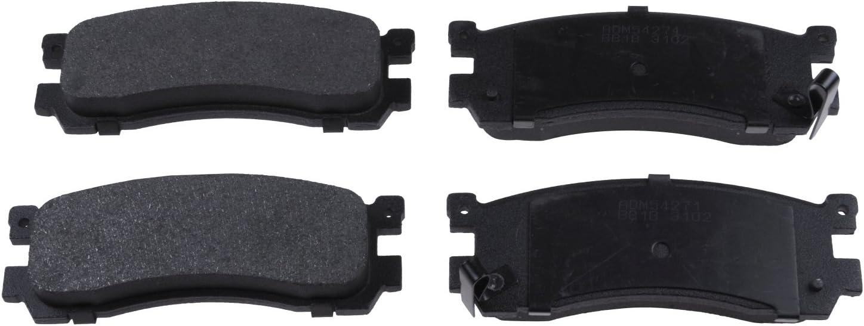 pack of four Blue Print ADM54271 Brake Pad Set