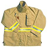 Fire Dex - FS1J057S - Turnout Coat, Tan, S, Nomex