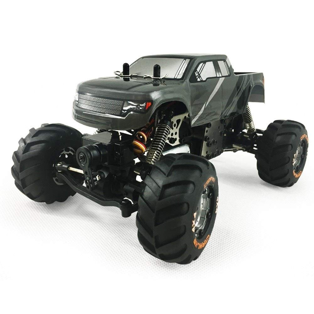 TBFEI 1:24 Scale Brushless Four-Wheel Climbing Car 2.4G Remote Control Cars SUV Six-Wheeled Chargeable Drift Car Big-Foot Radio Controlled Off-Road Vehicle Toy Car Model Rc Car