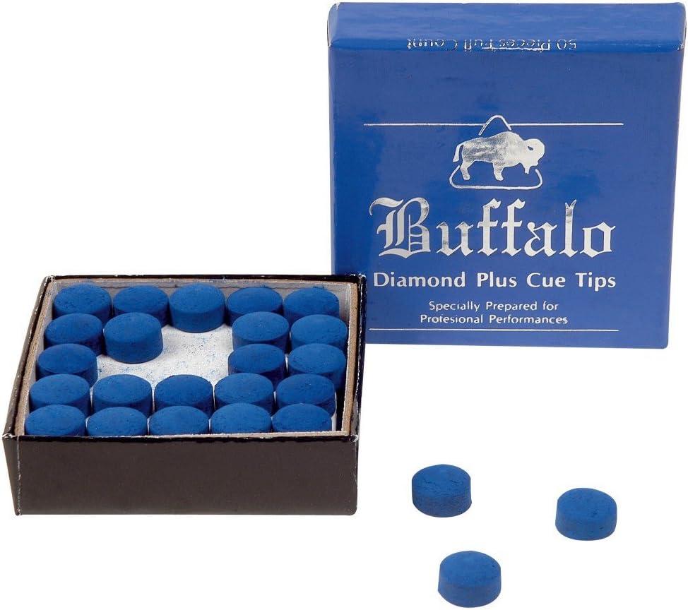 5er Set 10 mm Winsport Snooker Klebeleder Blue Diamond