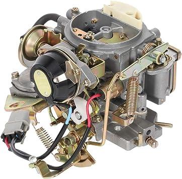 OCPTY Carburetor Fits for Nissan 720 pickup 2.4L Z24 engine 1983-1986 for Nissan Bluebird Caravan Datsun Atras Truck Vanette Panel Van 16010-21G61 1601021G61 Carb Carburetor
