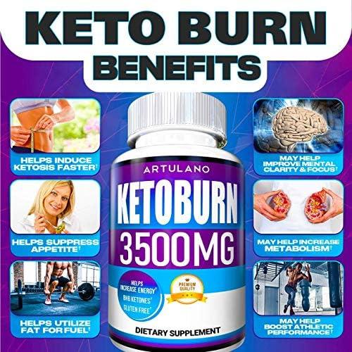 Keto Pills - 5X Potent (2-Pack   3500MG) - Best Keto Burn Diet Pills - Boost Energy and Metabolism - Exogenous Keto BHB Supplement for Women and Men - 180 Capsules 5