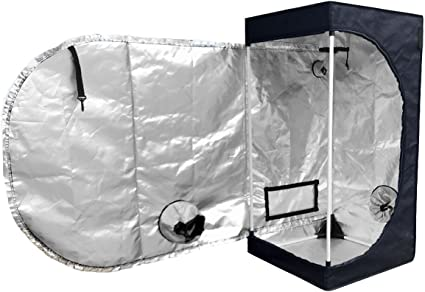 240X120X200CM Indoor Grow Tent Portable Hydroponic Non-Toxic Plant Growing Room