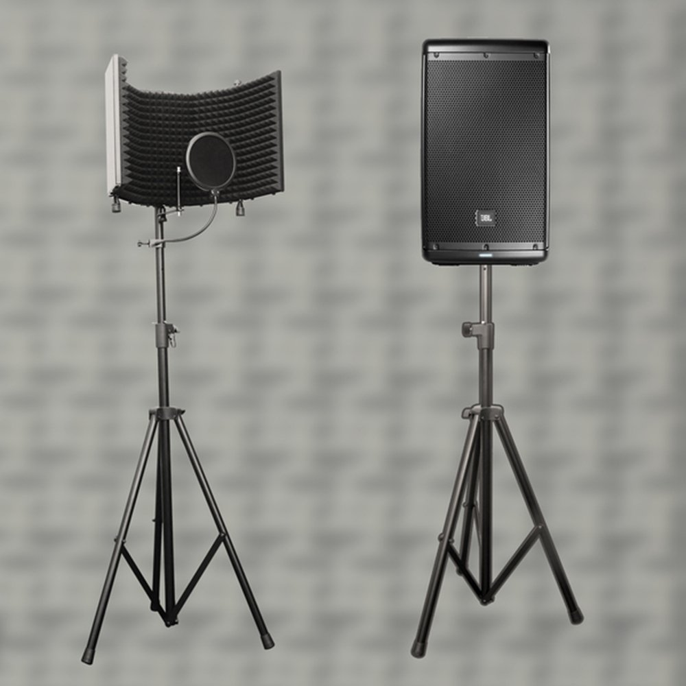 AxcessAbles SF-TRIPOD STAND for Recording Studio Isolation Shield/Speakers