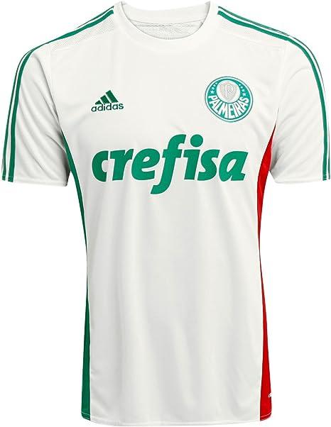 adidas Camiseta Palmeiras II 2015 – 2016 sin nº, Blanco ...