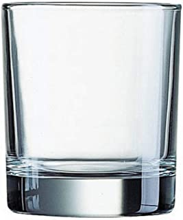 product image for Luminarc 4 Piece 10 oz Islande Double Old Fashioned, Clear, Short Glass, Set of 4 (L7581)