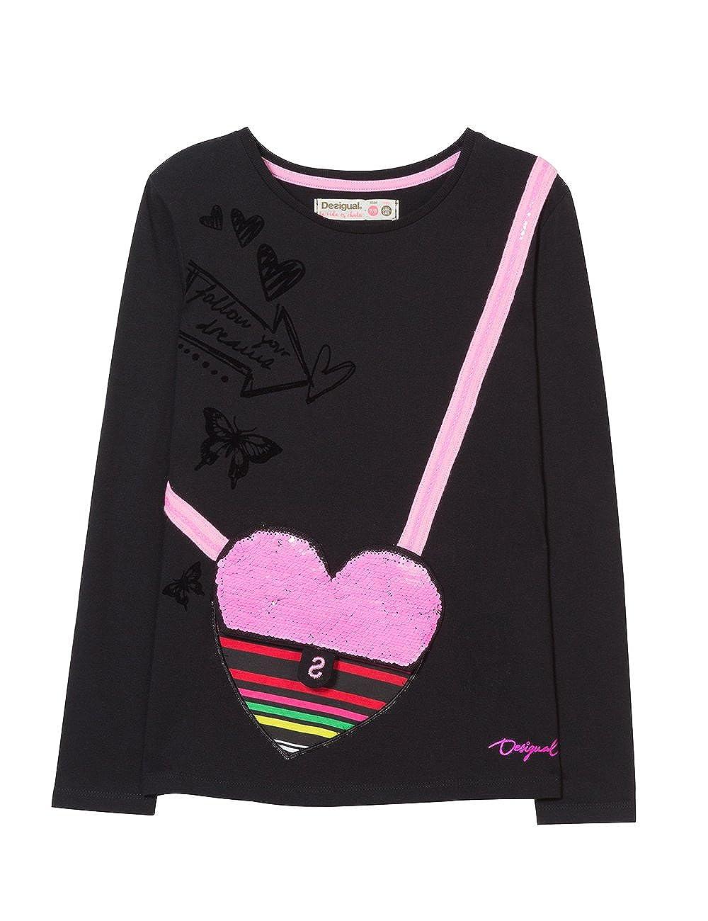 Desigual TS_calella, T-Shirt Bambina