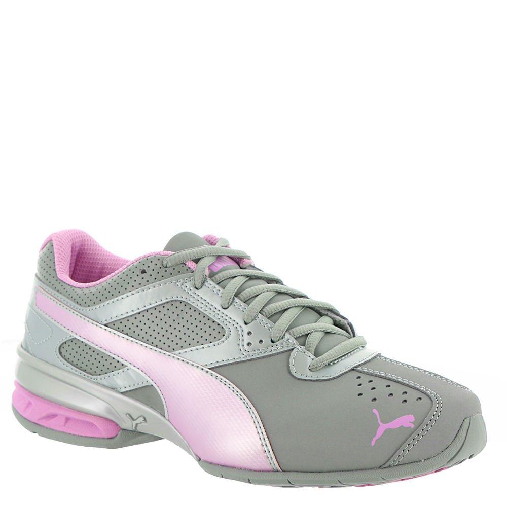 PUMA Women's Tazon 6 Fm Sneaker B077T1QD7L 8 M US|Quarry-orchid-puma Silver