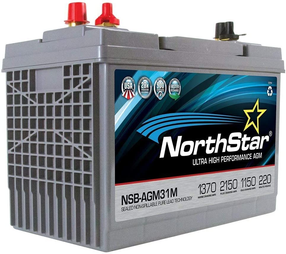 NorthStar AGM Marine Battery