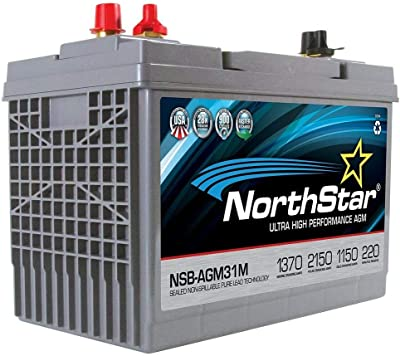 NorthStar NSB AGM 31M Dual Purpose Battery